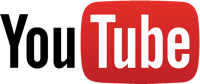 Logo YouTube streaming audio